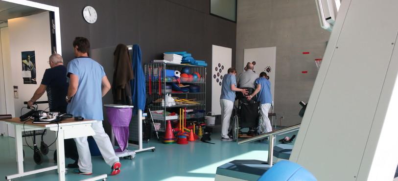 Salle de Physiothérapie