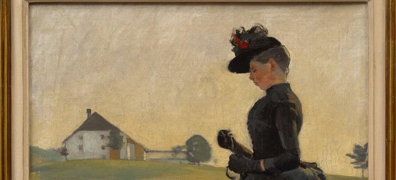 Ferdinand Hodler, Promenade dans le Jura, 1887