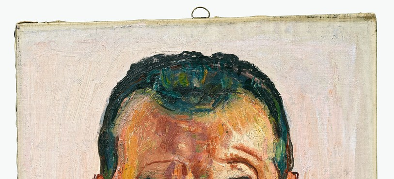 Ferdinand Hodler, Autoportrait, vers 1912