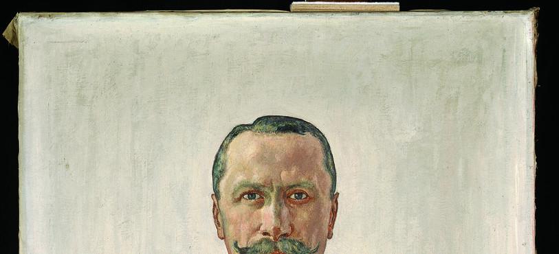 Ferdinand  Hodler, Portrait de Gaston Carlin, 1905