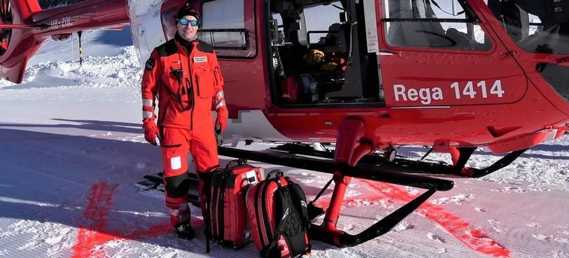 Olivier Gross, Médecin urgentiste