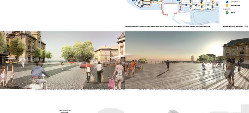 Plans et modélisations : bureaux paysagestion, stadt raum verkehr et LOCALARCHITECTURE