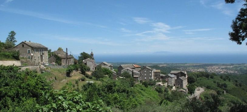 Vue sur Tagliu-Isulacciu