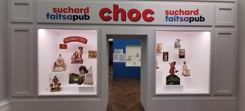 L'exposition « choc ! Suchard fait sa pub »