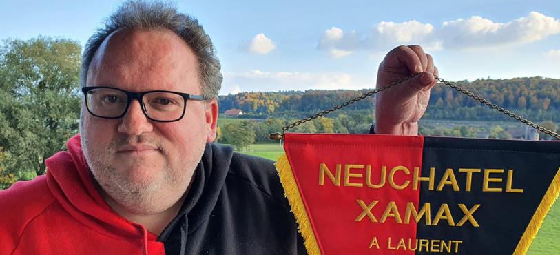 L'archiviste de Neuchâtel Xamax FCS Laurent Weber.
