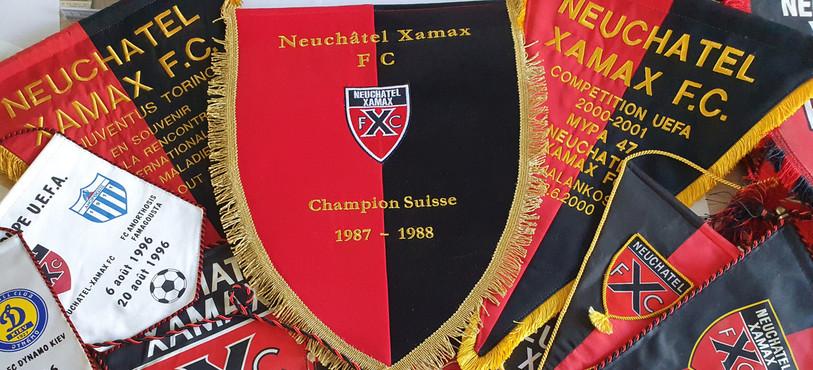 Fanions Neuchâtel Xamax
