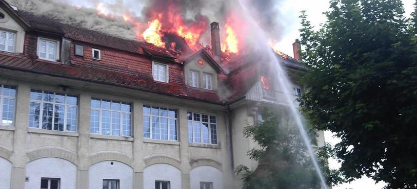 Incendie Lajoux