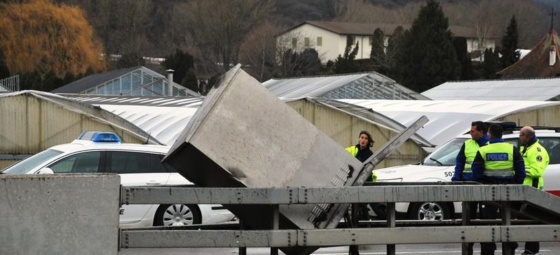 Accident autoroute St-Blaise
