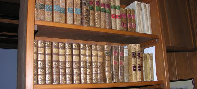 Des livres au Musée Rousseau à Môtiers