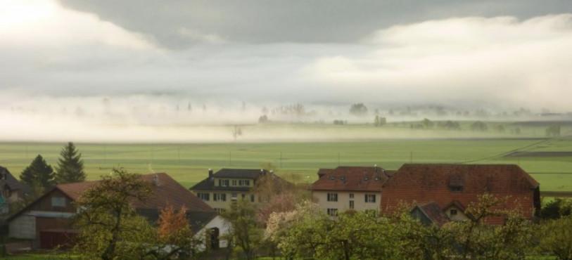 Ces plaines brumeuses accompagneront la présentation des activités du Parc. (Photo : Parc Chasseral / Muriel Morand-Pilot).