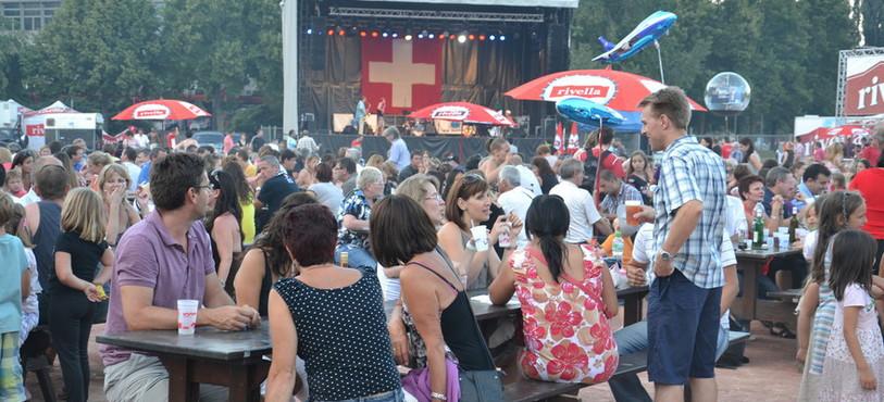 Premier août à Neuchâtel