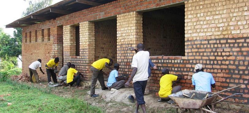 Bibliothèque au Congo