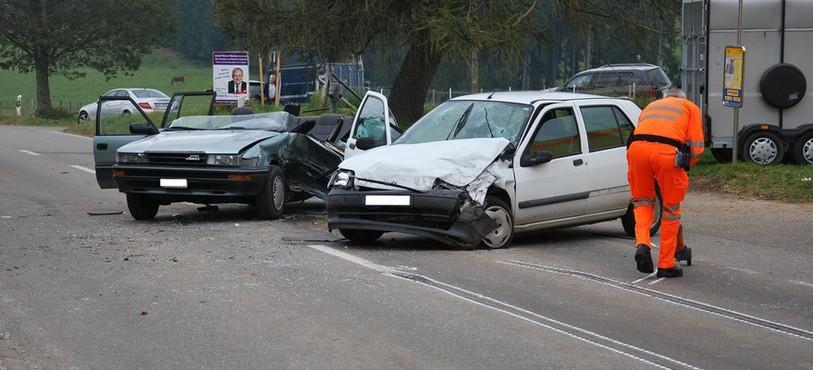 Deux voitures ont été impliquées