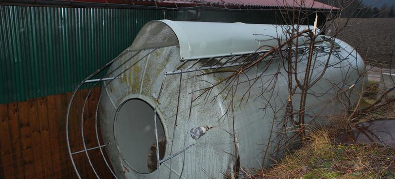 Le silo renversé
