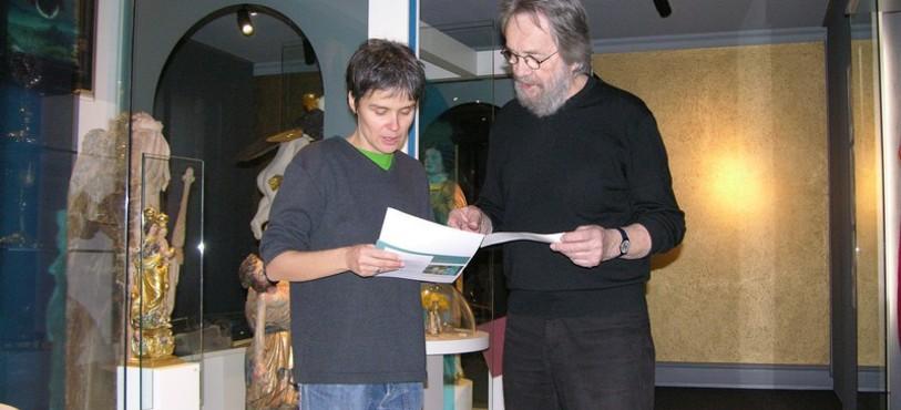 Nathalie Fleury et Jean-Pierre Zaugg