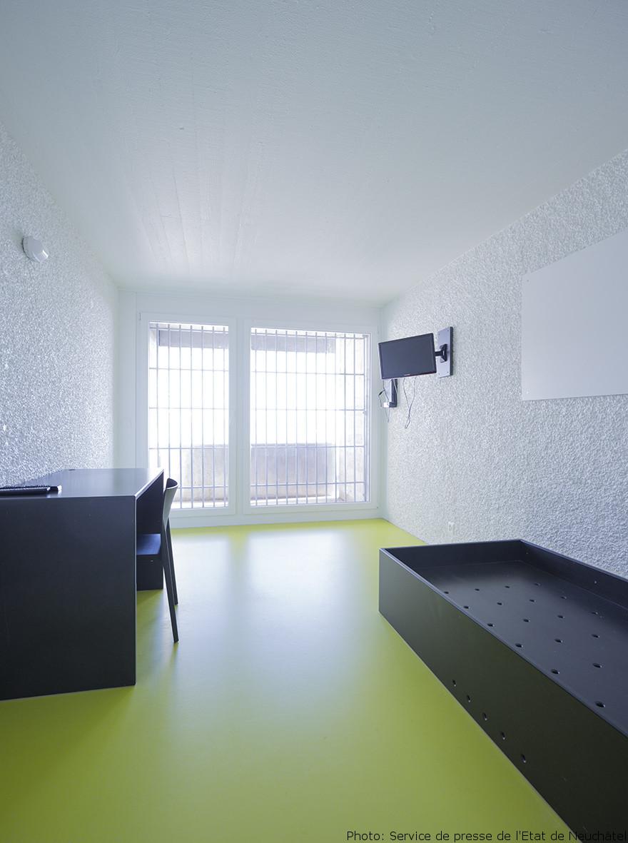 l heure de l inauguration a sonn pour la prison de gorgier rtn votre radio r gionale. Black Bedroom Furniture Sets. Home Design Ideas