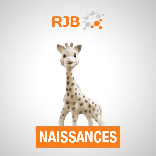 Naissances RJB - Un bébé ? Appelez-nous au 032 482 60 30 pour nous l'annoncer !