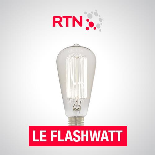 Le Flashwatt - Éclectique, électrique et complètement  secouée, c'est la rubrique qui vous fait économiser  l'énergie.